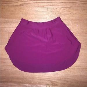 EUC Purple Capezio Ballet Skirt-SAB style- slip on